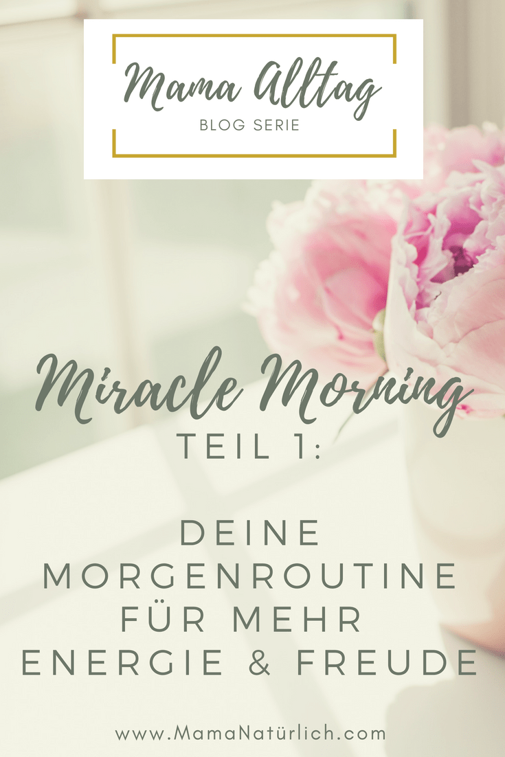 Miracle Morning Teil 1