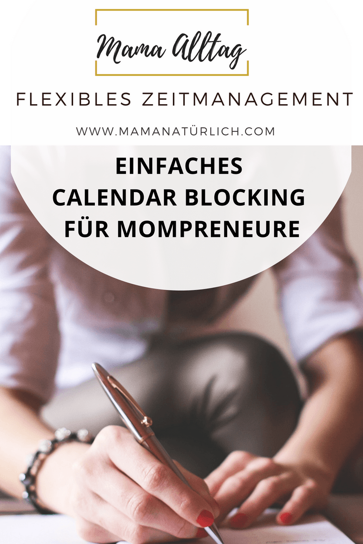 Calendar Blocking – Zeitmanagement in Blöcken